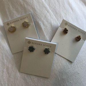 Kendra Scott Drusy Stud Earrings